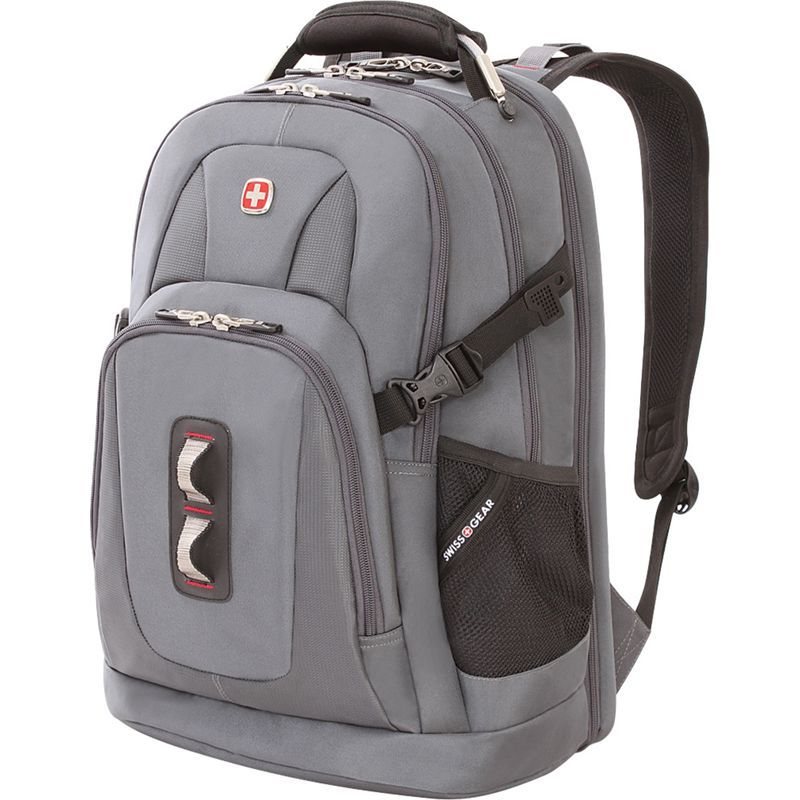スイスギアトラベルギア メンズ バックパック・リュックサック バッグ 6925 Laptop Backpack Grey