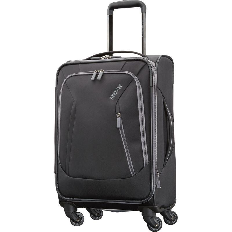 アメリカンツーリスター メンズ スーツケース バッグ Sonic 21 Expandable Carry-On Spinner Black