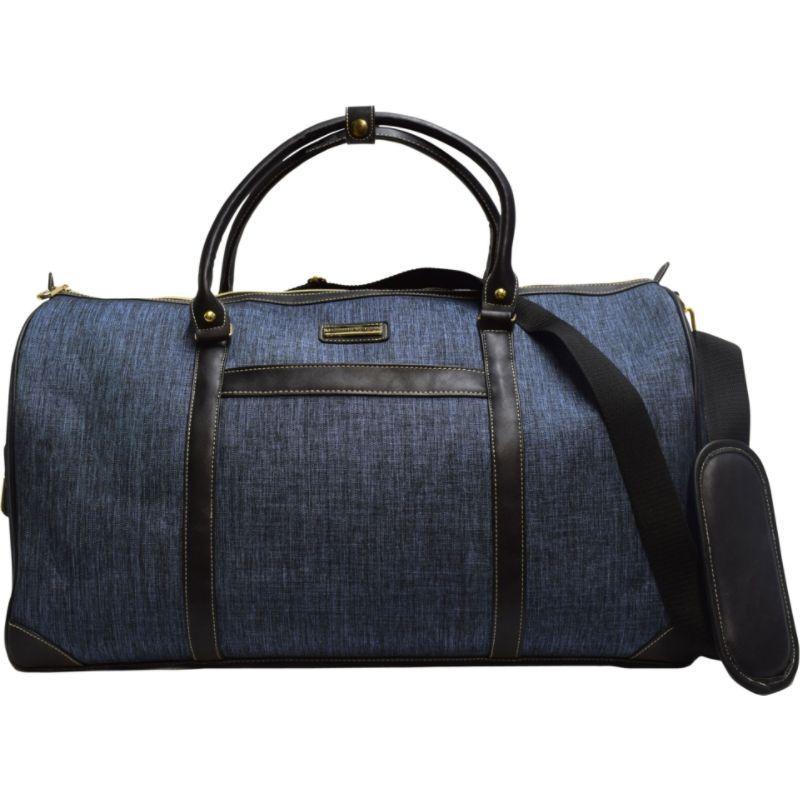アドリアンヌヴィッタディーニ メンズ スーツケース バッグ Two Tone 22 Duffel Denim Blue
