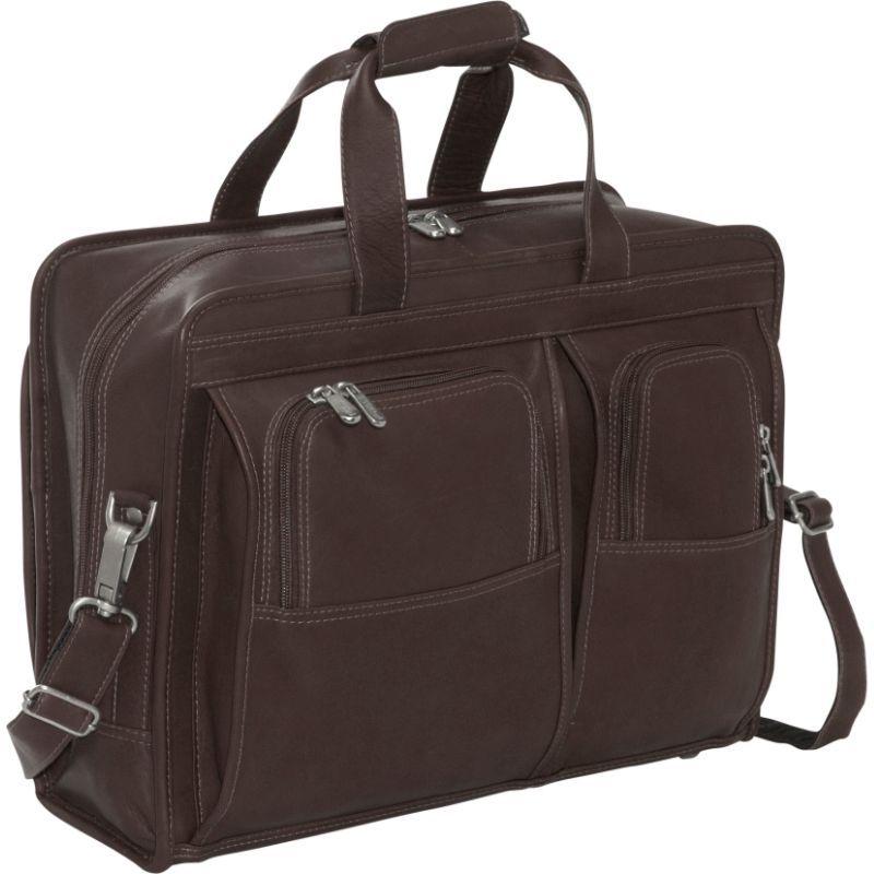 ピエール メンズ スーツケース バッグ Professional Computer Portfolio Chocolate