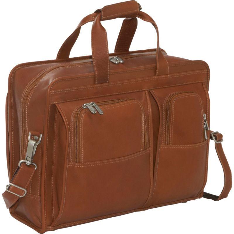 ピエール メンズ スーツケース バッグ Professional Computer Portfolio Saddle