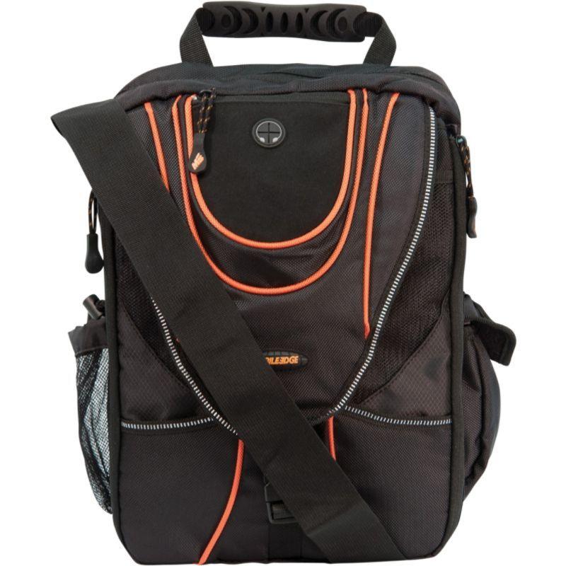 モバイルエッジ メンズ スーツケース バッグ Mini Messenger Gadget Bag - 9-13.3 Black/Orange