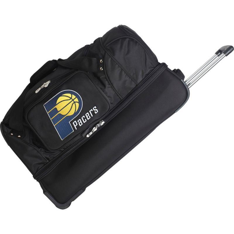 デンコスポーツ メンズ スーツケース バッグ NBA 27 Drop Bottom Wheeled Duffel Bag Indiana Pacers
