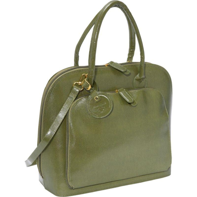 ウーメンインビジネス レディース スーツケース バッグ Francine Collection - Park Avenue 12 Laptop Tote Olive