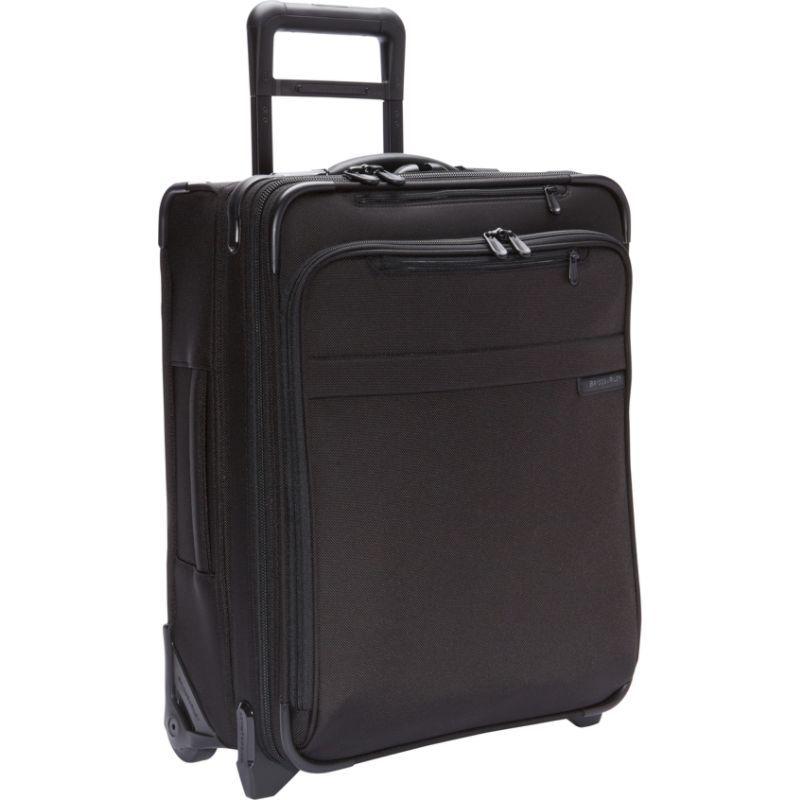 ブリグスアンドライリー メンズ スーツケース バッグ Baseline International Carry-On Wide Body Upright Black
