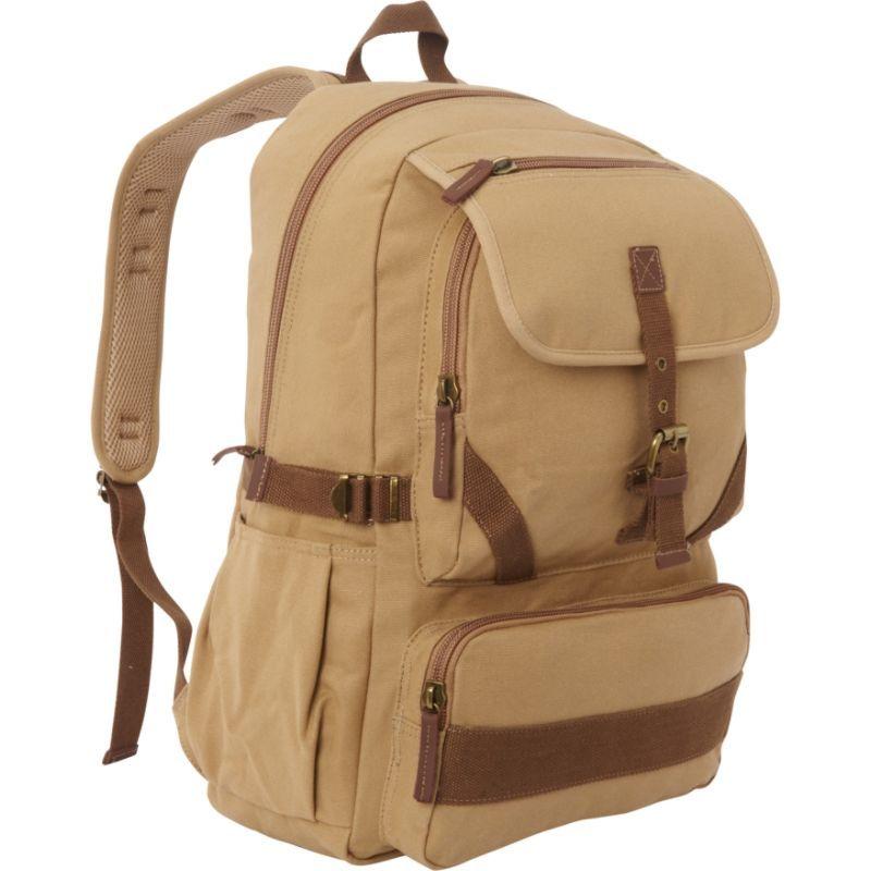 ヴァガボンドトラベラー メンズ バックパック・リュックサック バッグ Sport Canvas Backpack Khaki