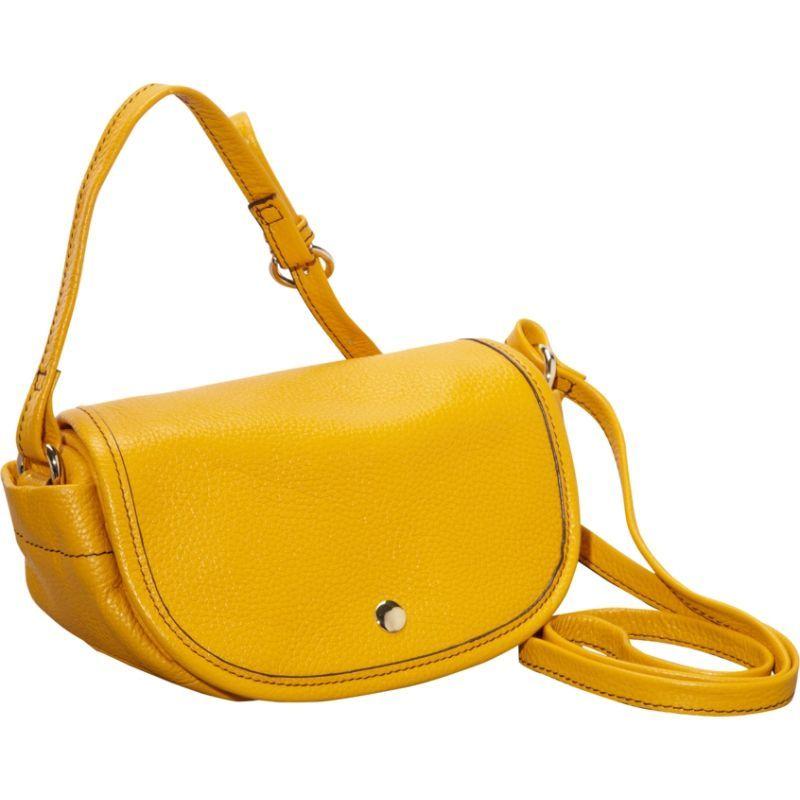 クレバ メンズ ボディバッグ・ウエストポーチ バッグ Page Leather Mini Crossbody Yellow