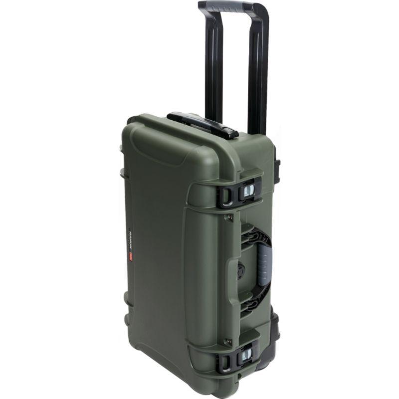 ナヌク メンズ スーツケース バッグ 935 Case With 4 Part Foam Insert Olive