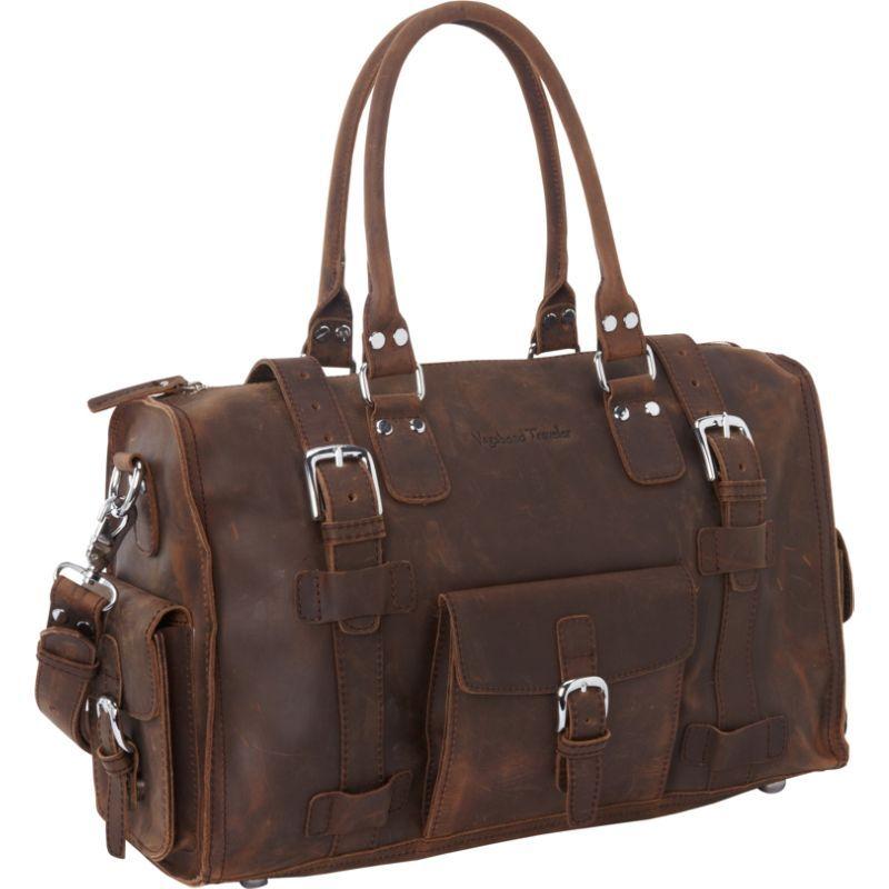 ヴァガボンドトラベラー メンズ スーツケース バッグ 19 Leather Medium Duffel Vintage Brown