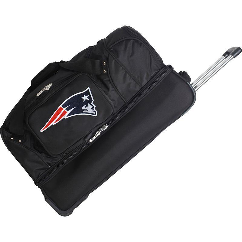 デンコスポーツ メンズ スーツケース バッグ NFL 27 Drop Bottom Wheeled Duffel Bag New England Patriots