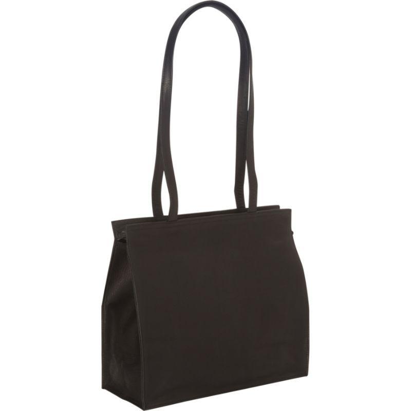 ロイスレザー メンズ トートバッグ バッグ Vaquetta All Purpose Tote Bag Black 36