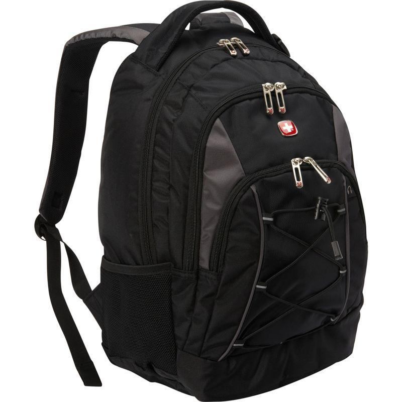 スイスギアトラベルギア メンズ バックパック・リュックサック バッグ Bungee Backpack Black/Grey