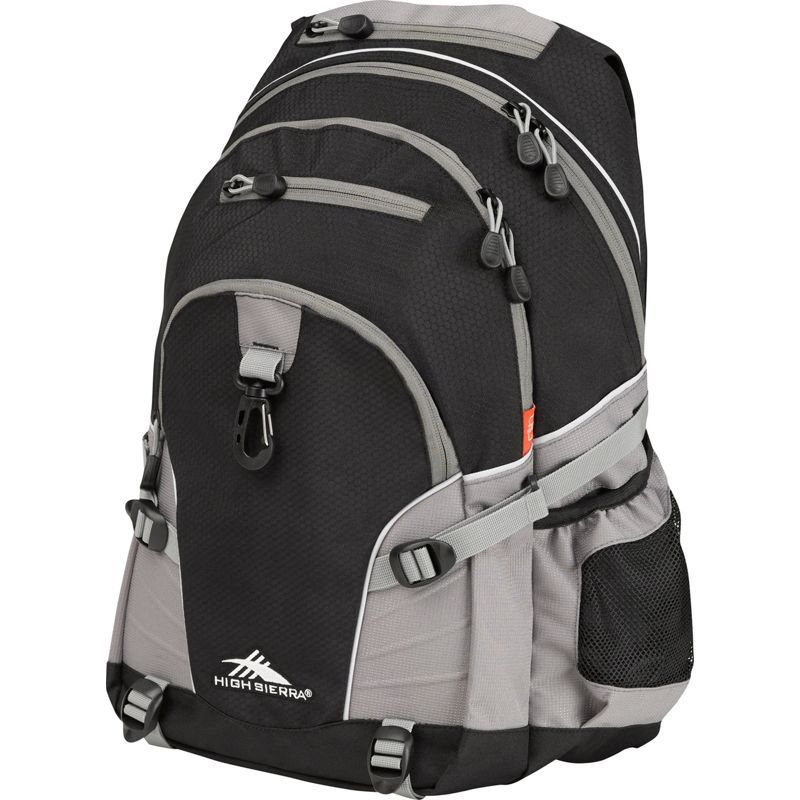 ハイシエラ メンズ バックパック・リュックサック バッグ Loop Backpack Black/Charcoal