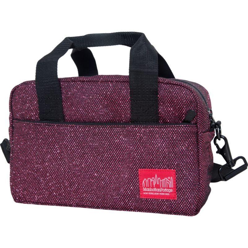 マンハッタンポーテージ メンズ ショルダーバッグ バッグ Midnight Parkside Shoulder Bag Burgundy