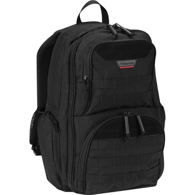 プロッパー メンズ バックパック・リュックサック バッグ Expandable Backpack Black