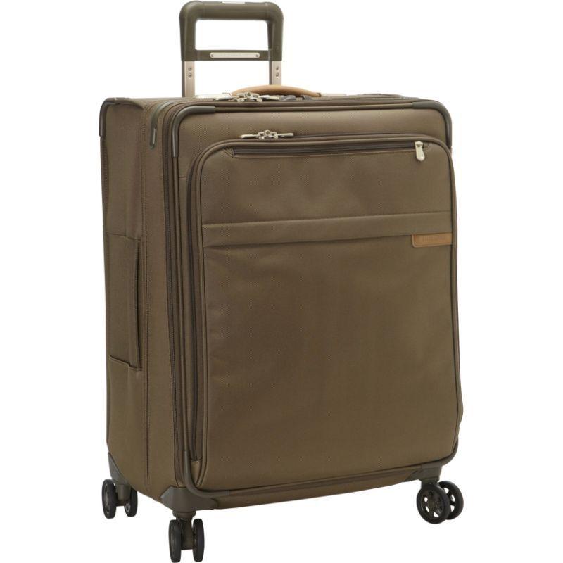 ブリグスアンドライリー メンズ スーツケース バッグ Baseline CX Medium Expandable Spinner Olive