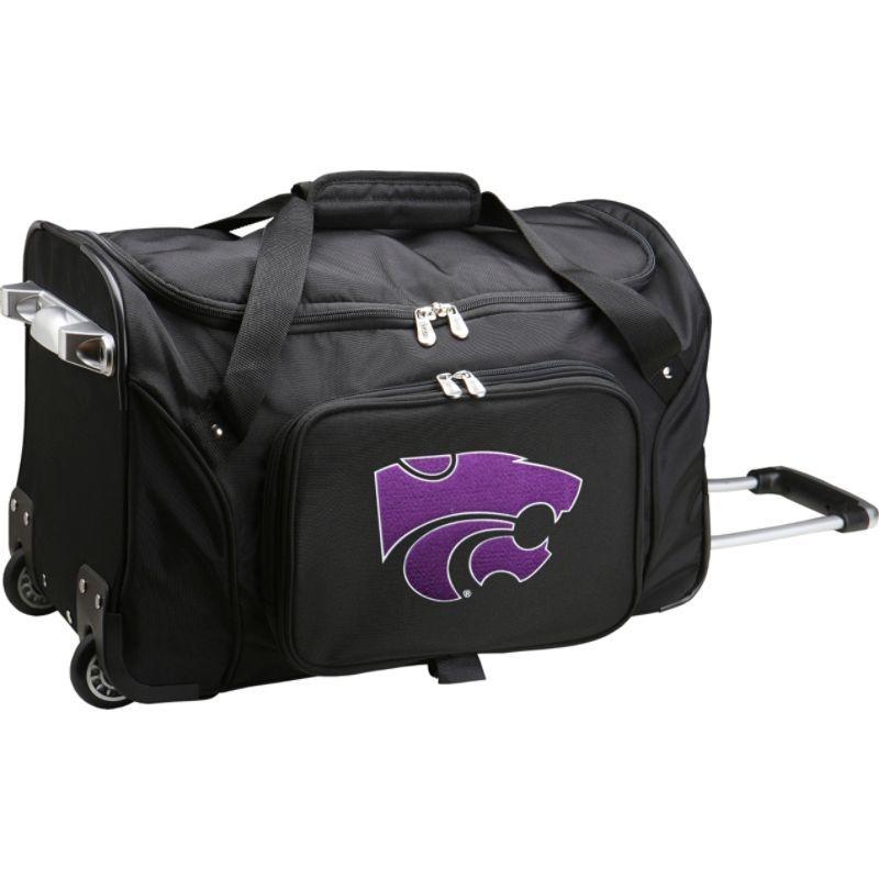 デンコスポーツ メンズ スーツケース バッグ NCAA 22 Rolling Duffel Kansas State University Wildcats