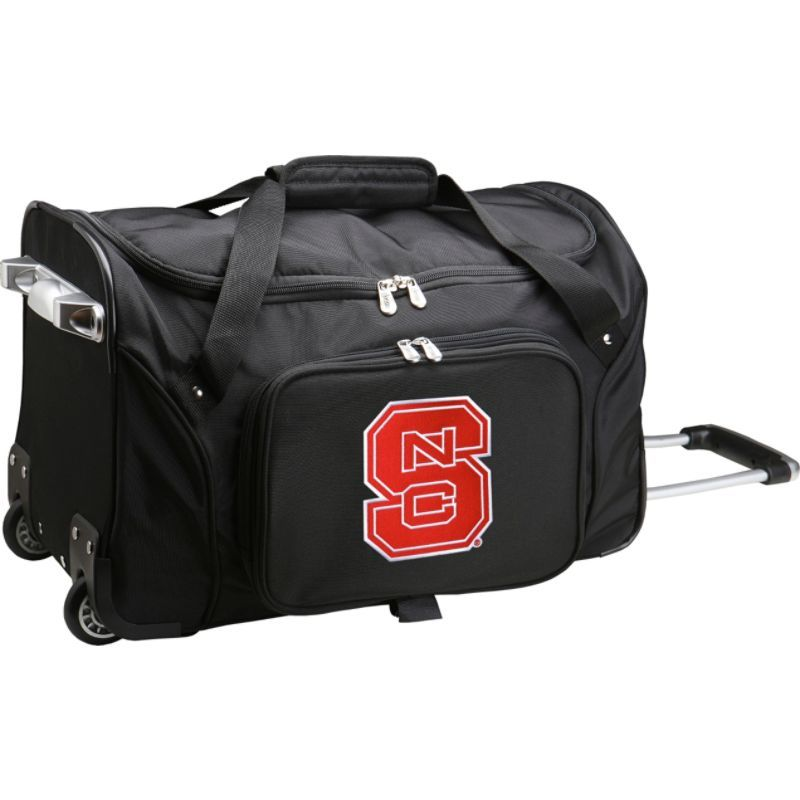 デンコスポーツ メンズ スーツケース バッグ NCAA 22 Rolling Duffel North Carolina State University Wolfpack
