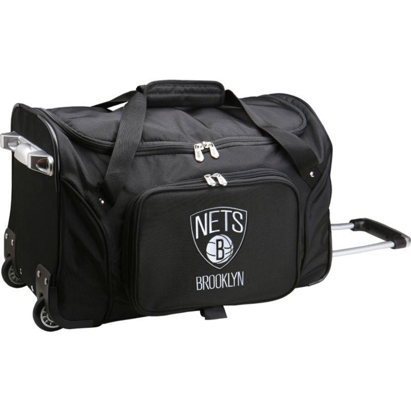 デンコスポーツ メンズ スーツケース バッグ NBA 22 Rolling Duffel Brooklyn Nets