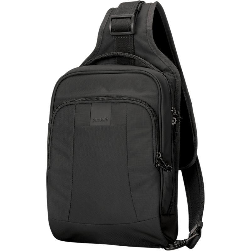 パックセーフ メンズ ショルダーバッグ バッグ Metrosafe LS150 Anti-Theft Sling Backpack Black