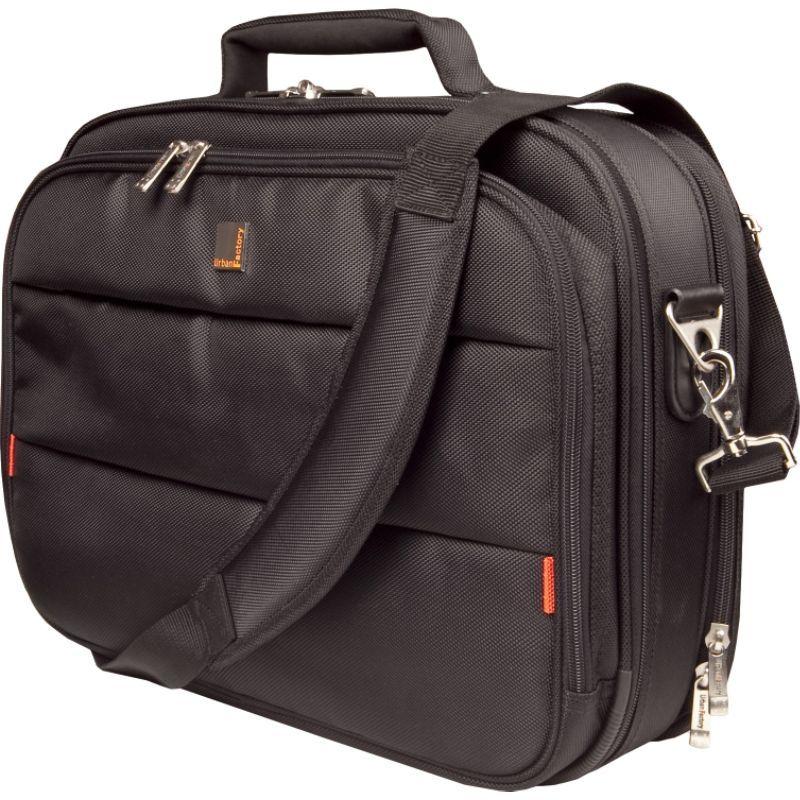 アーバンファクトリー メンズ スーツケース バッグ City Classic Case 15.6 with Document Compartment Black