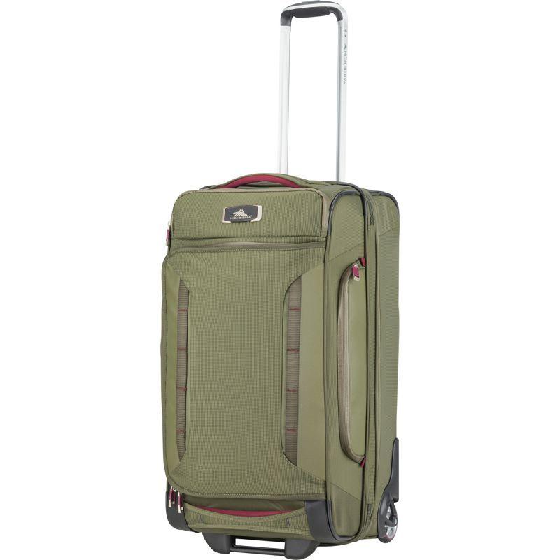 ハイシエラ メンズ スーツケース バッグ AT8 26 Wheeled Duffel Upright Olive/Cranberry
