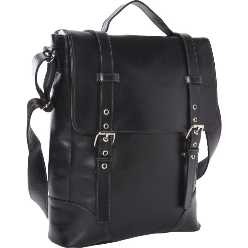 ピエール メンズ スーツケース バッグ Deluxe Vertical Briefcase - Exclusive Black