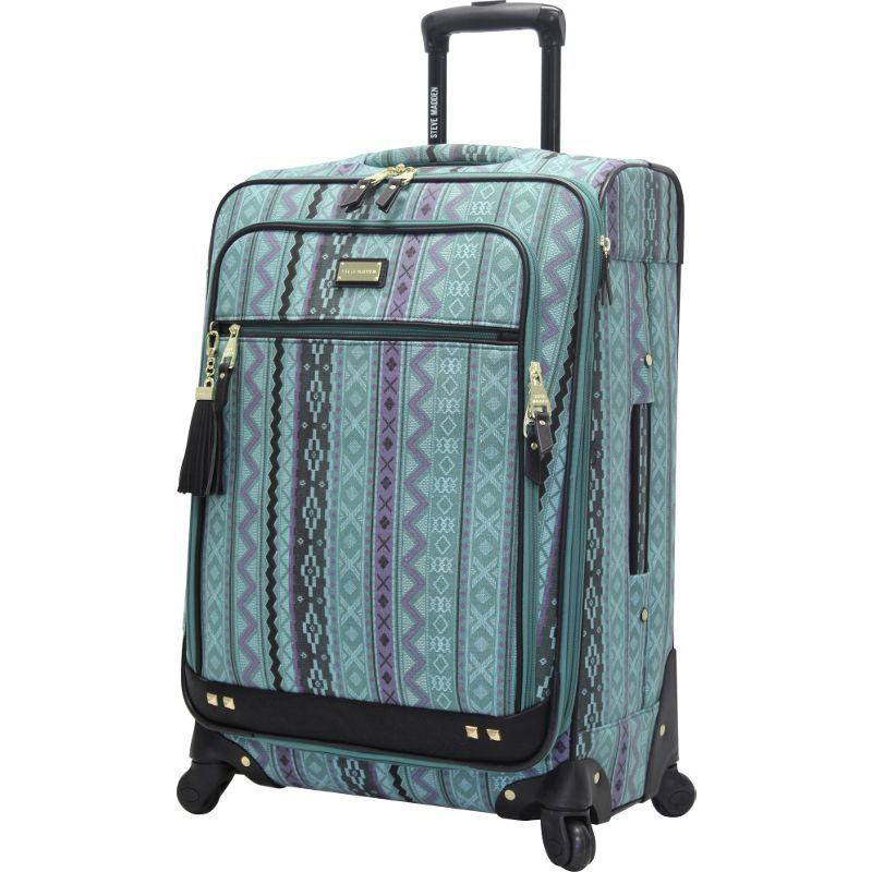 スティーブ マデン メンズ スーツケース バッグ Legends 28 Exp Spinner Blue