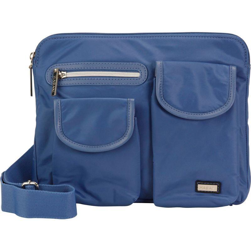 ハダキ メンズ ボディバッグ・ウエストポーチ バッグ Pockets Crossbody Bijou Blue