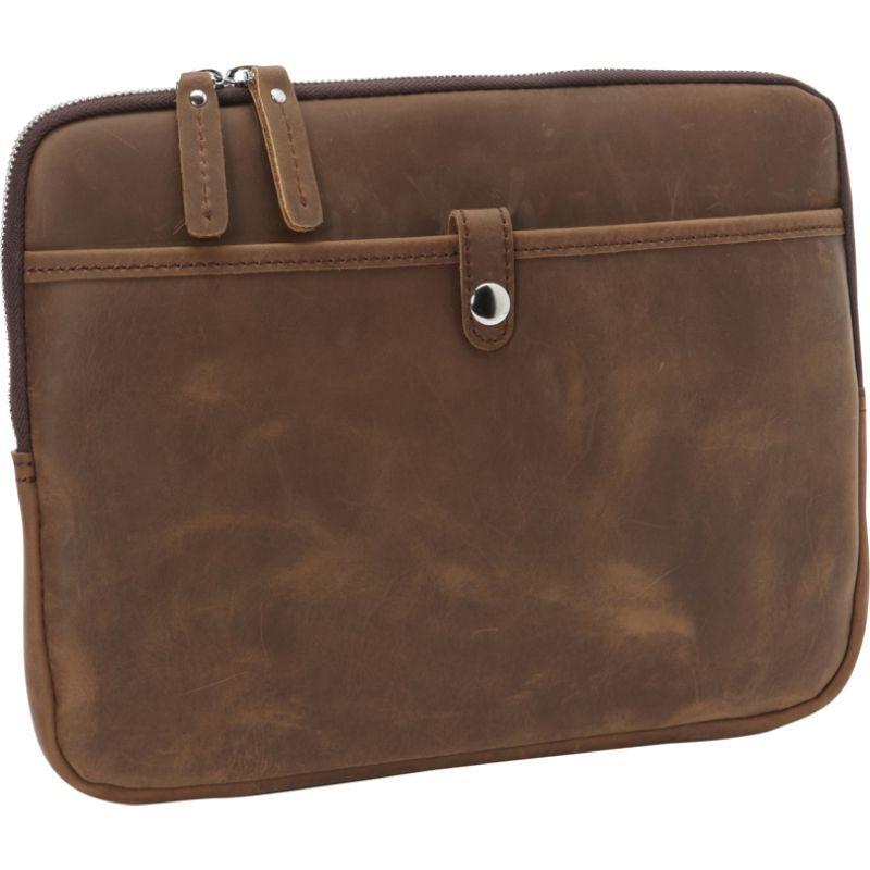 ヴァガボンドトラベラー メンズ スーツケース バッグ 12-inch MacBook Pro Full Grain Cowhide Leather Sleeve with Cushion Sleeve Distress