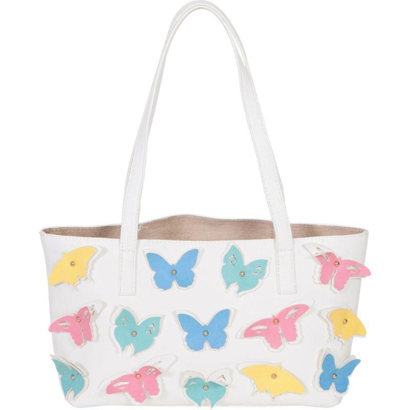 ブコ メンズ トートバッグ バッグ Small Butterfly Tote White