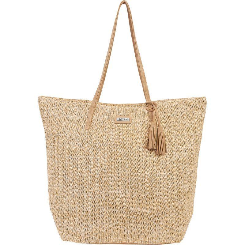 サンアンドサンド メンズ トートバッグ バッグ Natural Crochet Handbag Tote Natural