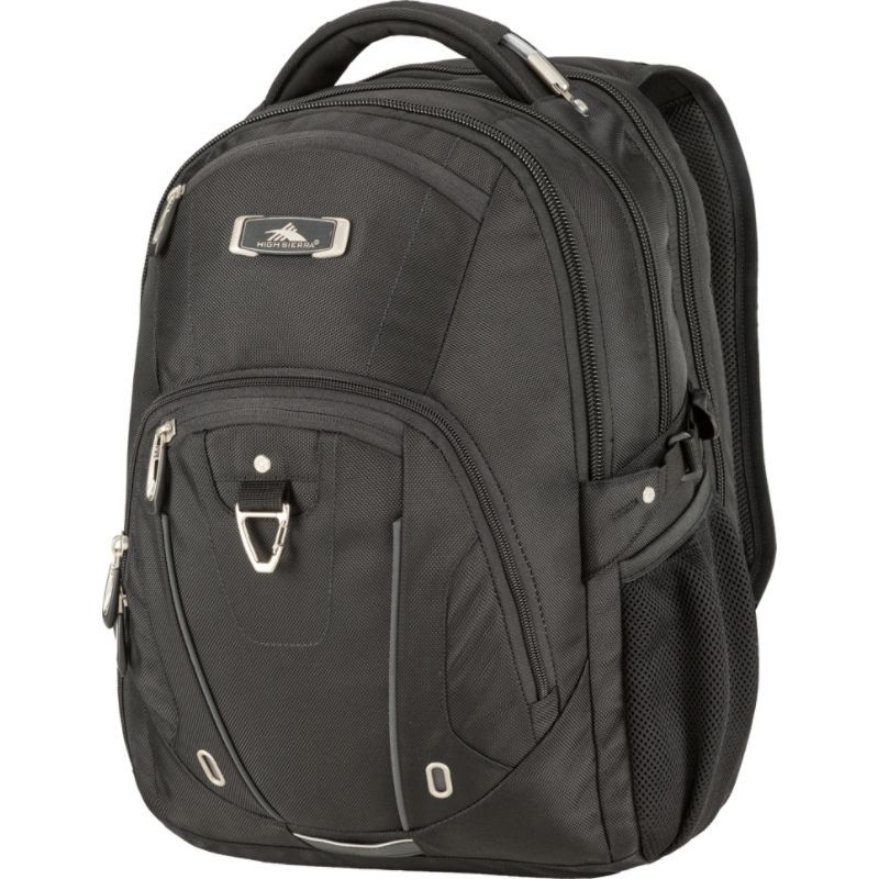 ハイシエラ メンズ スーツケース バッグ Pro Series TSA Laptop Backpack 17- eBags Exclusive Black