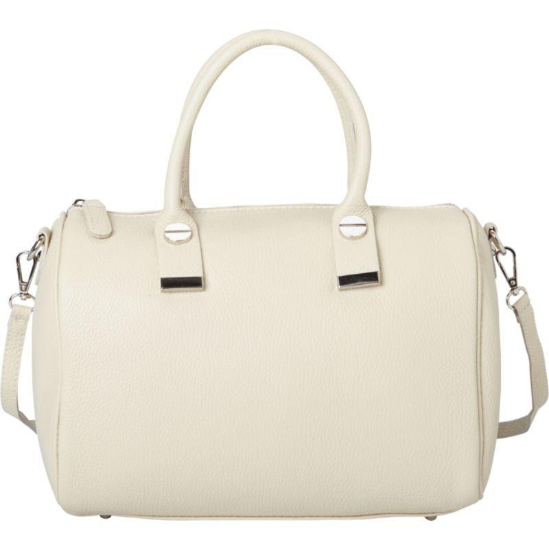 シャロレザーバッグス メンズ ショルダーバッグ バッグ Italian Textured Leather Tote and Shoulder Bag Beige