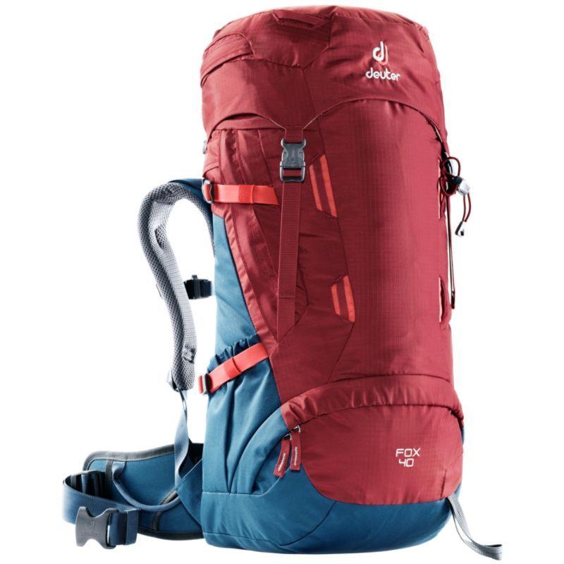 ドイター メンズ バックパック・リュックサック バッグ Kids Fox 40 Hiking Backpack Cranberry/Steel