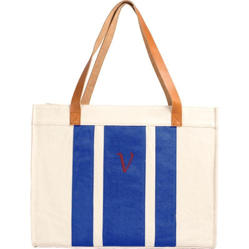 キャシーズ コンセプツ メンズ トートバッグ バッグ Monogram Tote Bag Blue - V