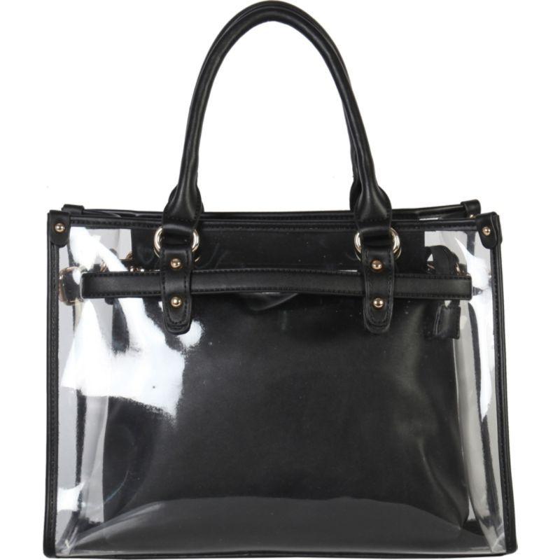 ディオフィ メンズ トートバッグ バッグ Large Fashion Clear Tote Black