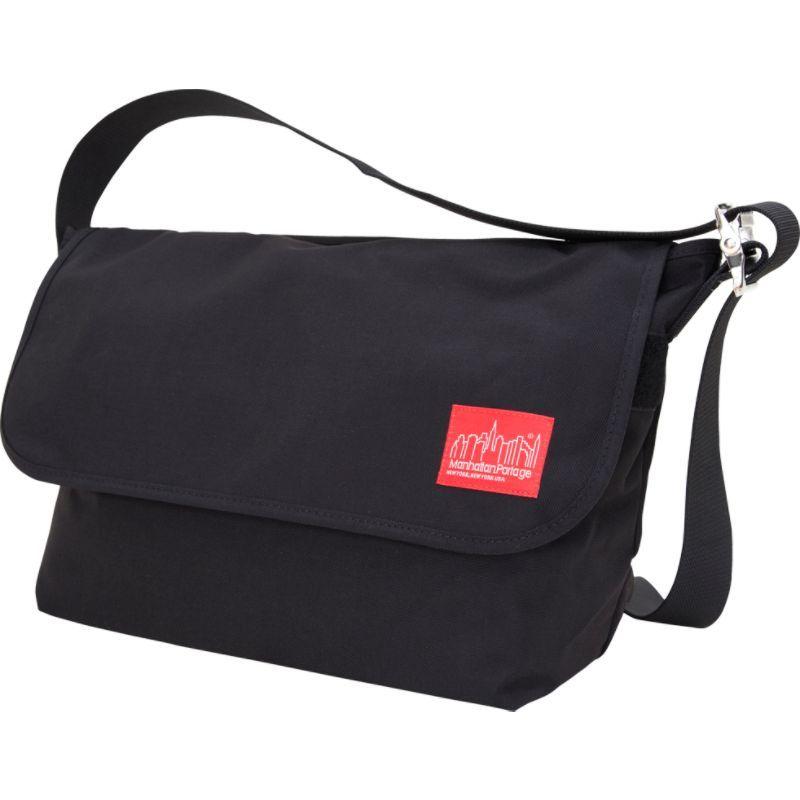 マンハッタンポーテージ メンズ ショルダーバッグ バッグ Vintage Messenger Bag - Large Black