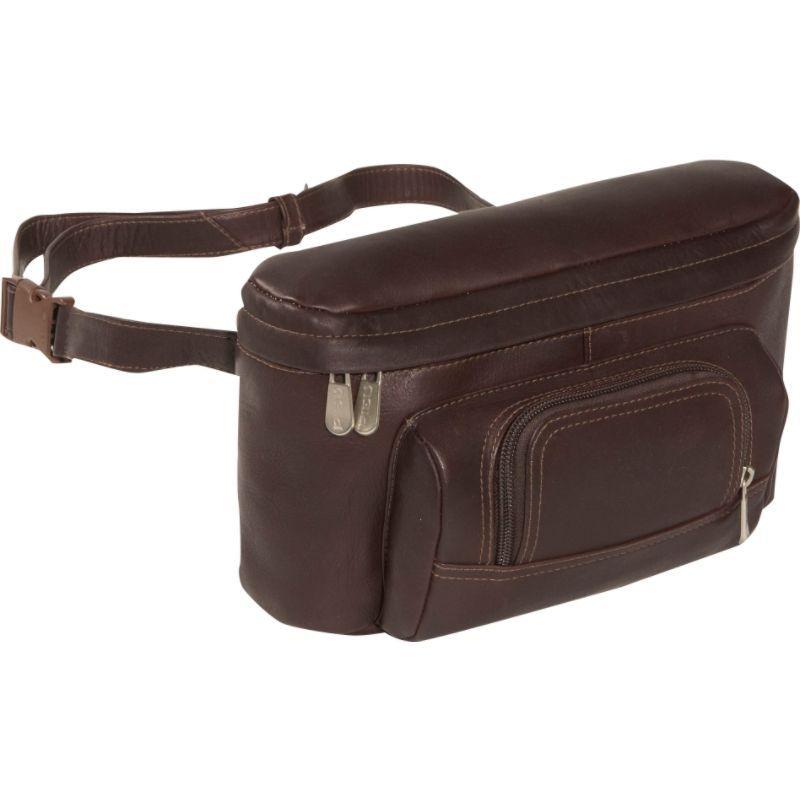 ピエール メンズ ボディバッグ・ウエストポーチ バッグ Carry-All Waist Bag Chocolate