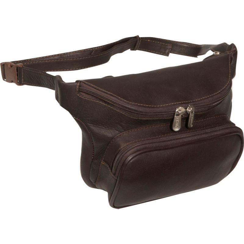 ピエール メンズ ボディバッグ・ウエストポーチ バッグ Large Classic Waist Bag Chocolate