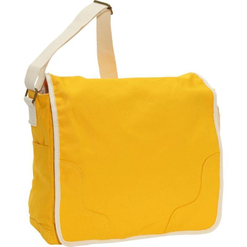 イーストポート メンズ ショルダーバッグ バッグ Small Messenger Bag Yellow