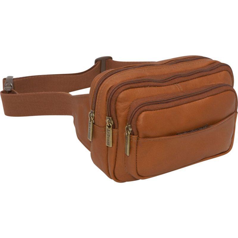 ルドネレザー メンズ ボディバッグ・ウエストポーチ バッグ Four Compartment Waist Bag Tan