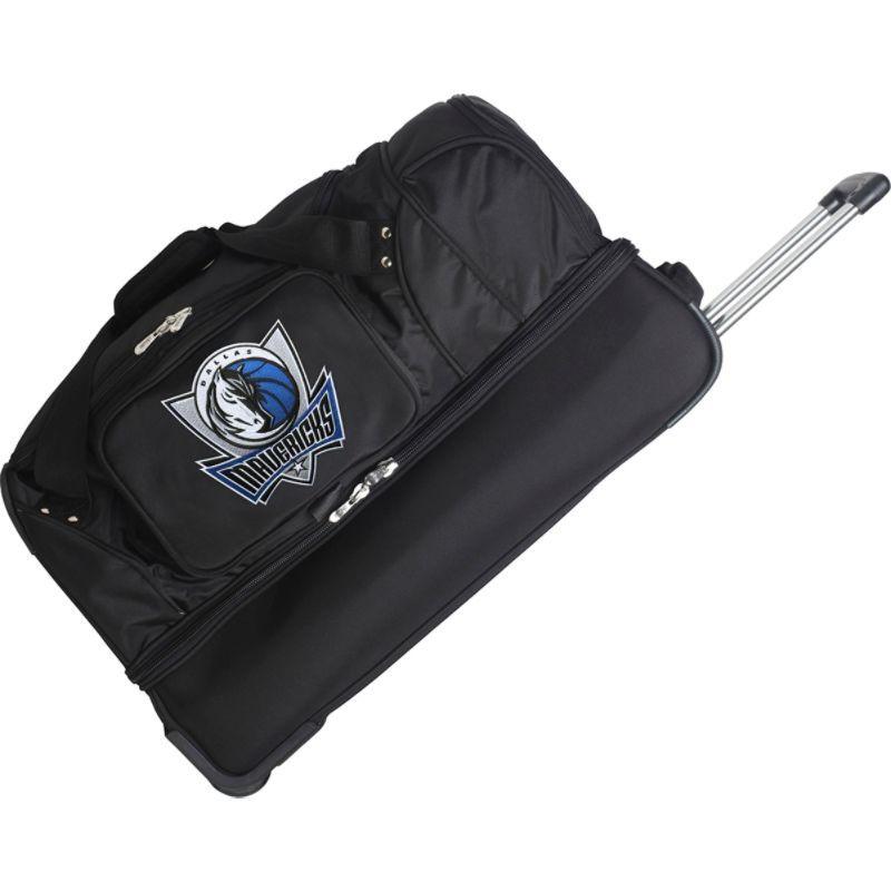 デンコスポーツ メンズ スーツケース バッグ NBA 27 Drop Bottom Wheeled Duffel Bag Dallas Mavericks