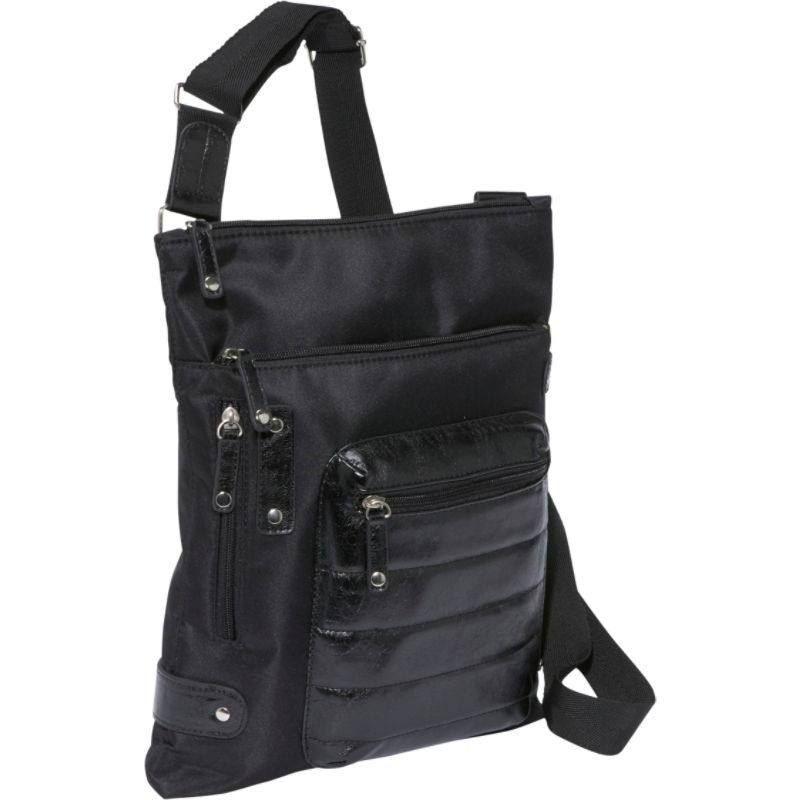 ウーメンインビジネス レディース ボディバッグ・ウエストポーチ バッグ NY City Slim 10.1 Tablet Case Black