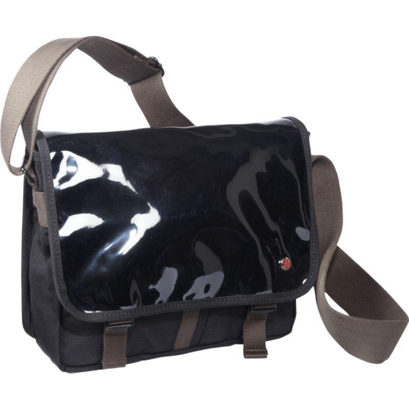 トーケン メンズ ショルダーバッグ バッグ Metropolitan Enamel DJ Bag (S) Black