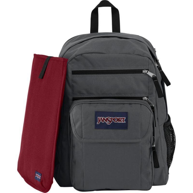ジャンスポーツ メンズ バックパック・リュックサック バッグ Digital Student Laptop Backpack Forge Grey