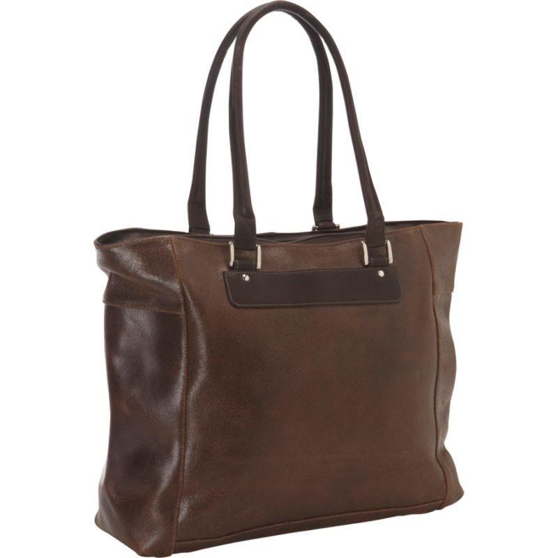 ピエール メンズ スーツケース バッグ Vintage Leather Executive Laptop Tote Vintage Brown