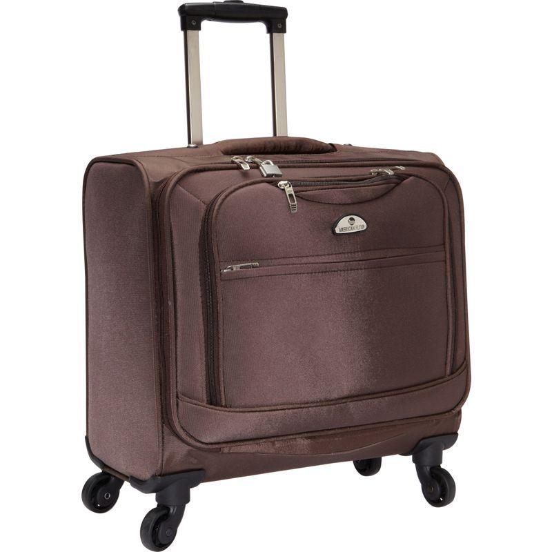 アメリカンフライアー メンズ スーツケース バッグ South West 4-Wheel Professional Business Wheelies Brown