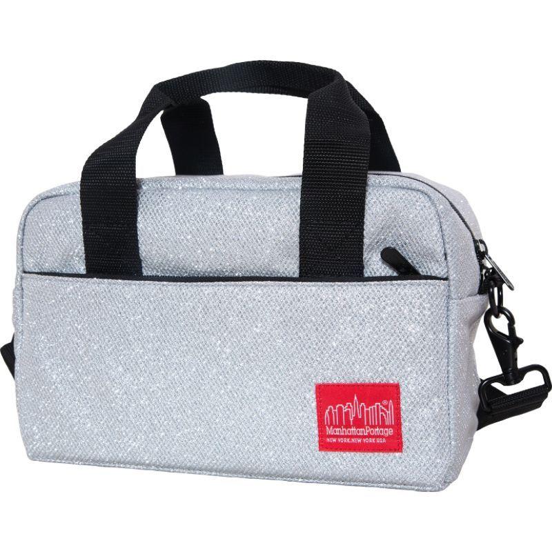 マンハッタンポーテージ メンズ ショルダーバッグ バッグ Midnight Parkside Shoulder Bag Gray