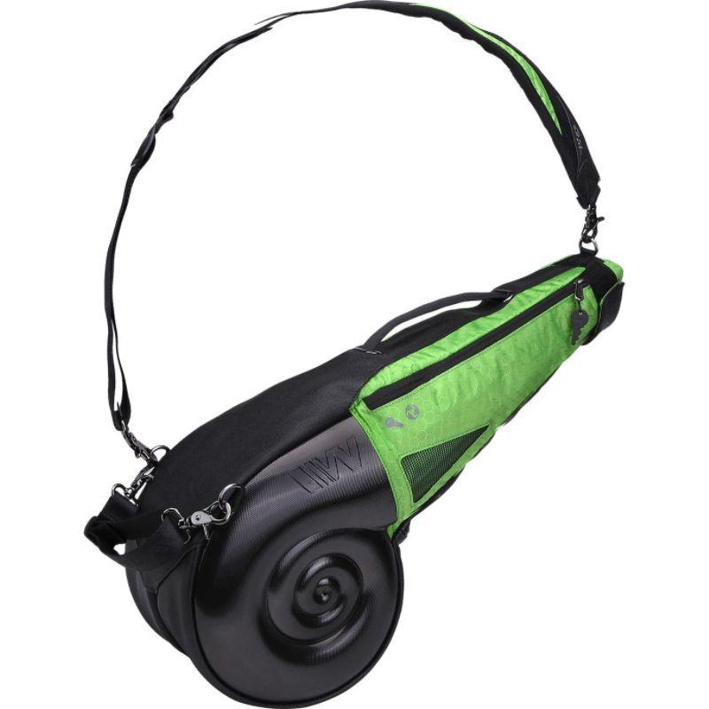 ウェルズハー メンズ ボストンバッグ バッグ Nautilus Driving Range Sunday Bag Black/Green